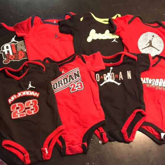 f68c8bbf12650b Jordan Other - Baby Jordan onesies lot of 8 0-3 months 3